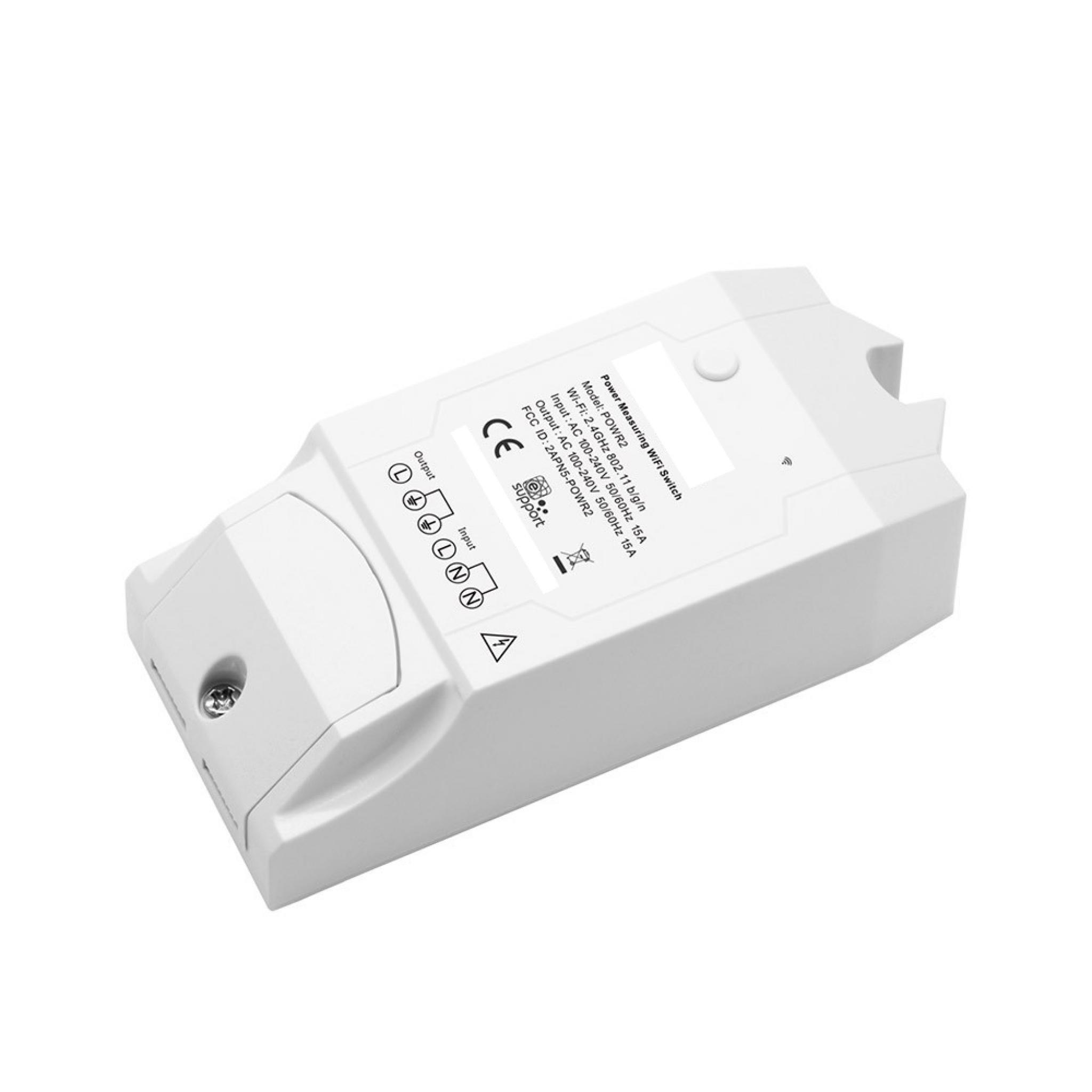 Sonoff Pow r2 WiFi Inal/ámbrico Interruptor ON//Off 15A Con Medici/ón del Consumo